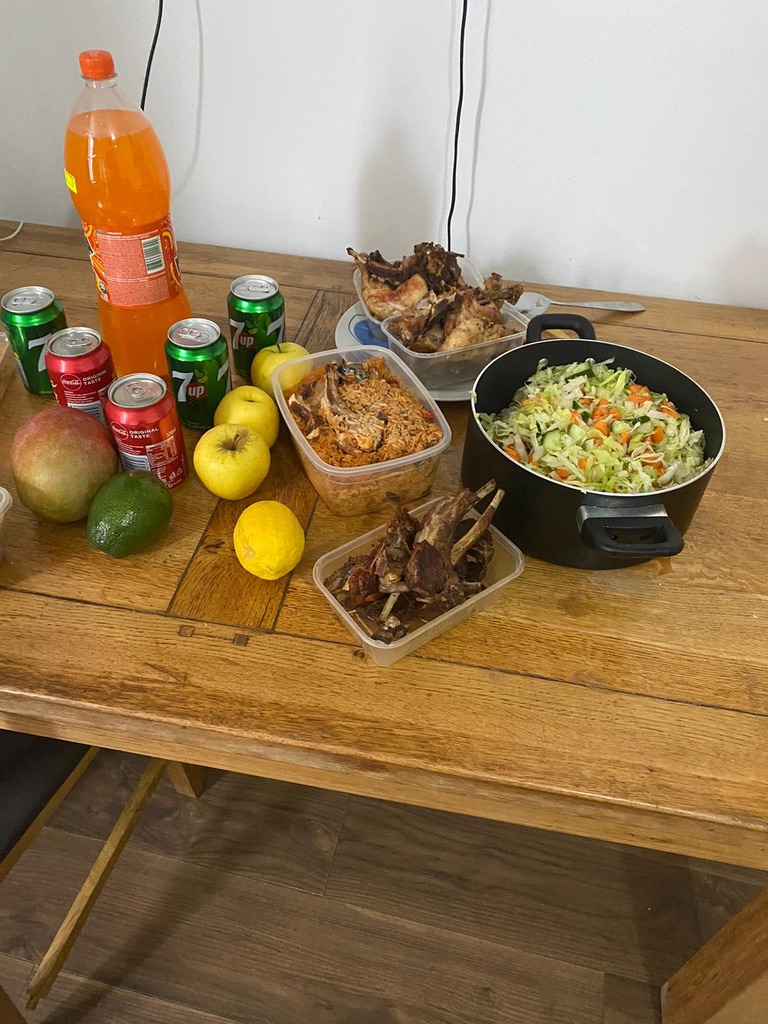 Celebratory Eid meal