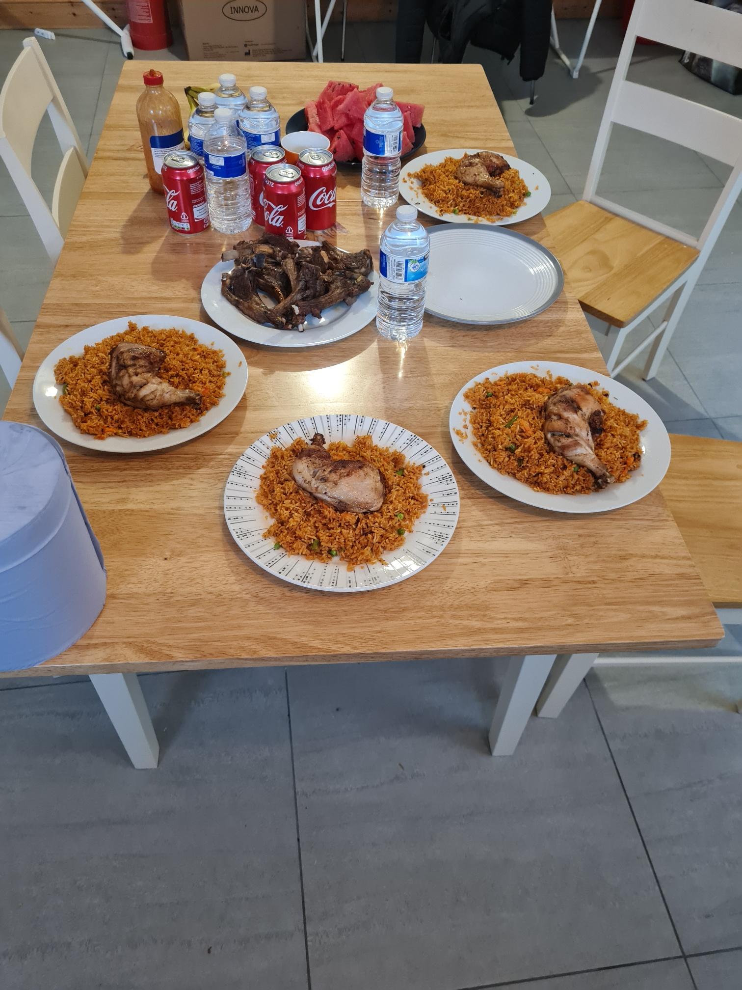 Eid meal at Leytonstone