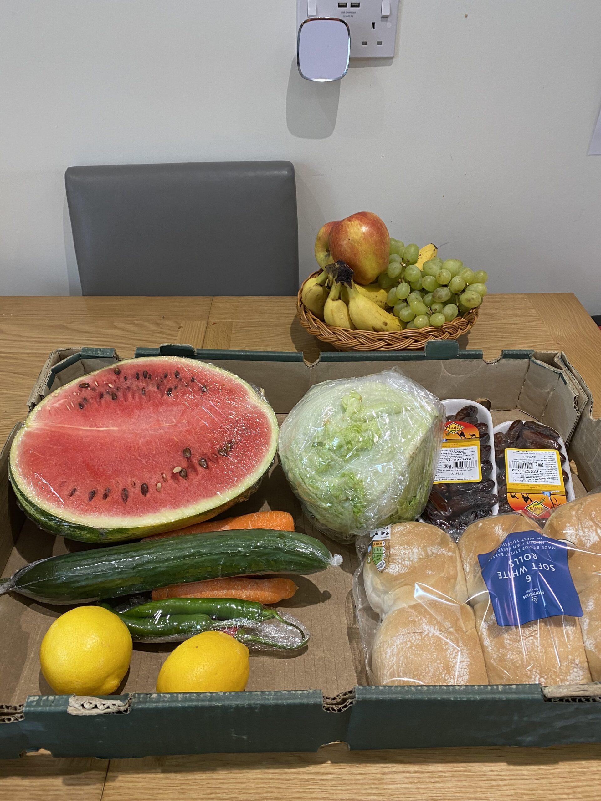 Food preparation for Eid