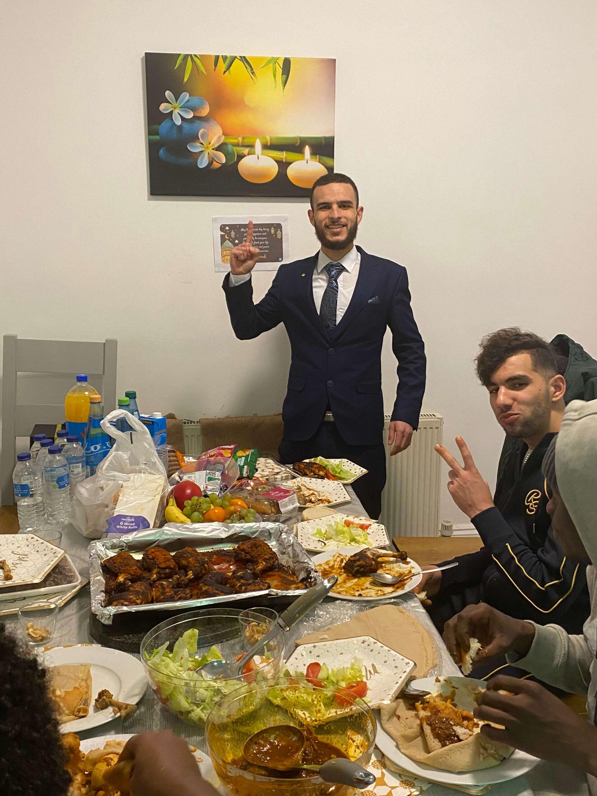 Eid celebration at Bounds Green